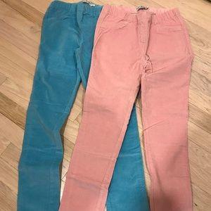 Mini Boden corduroy leggings